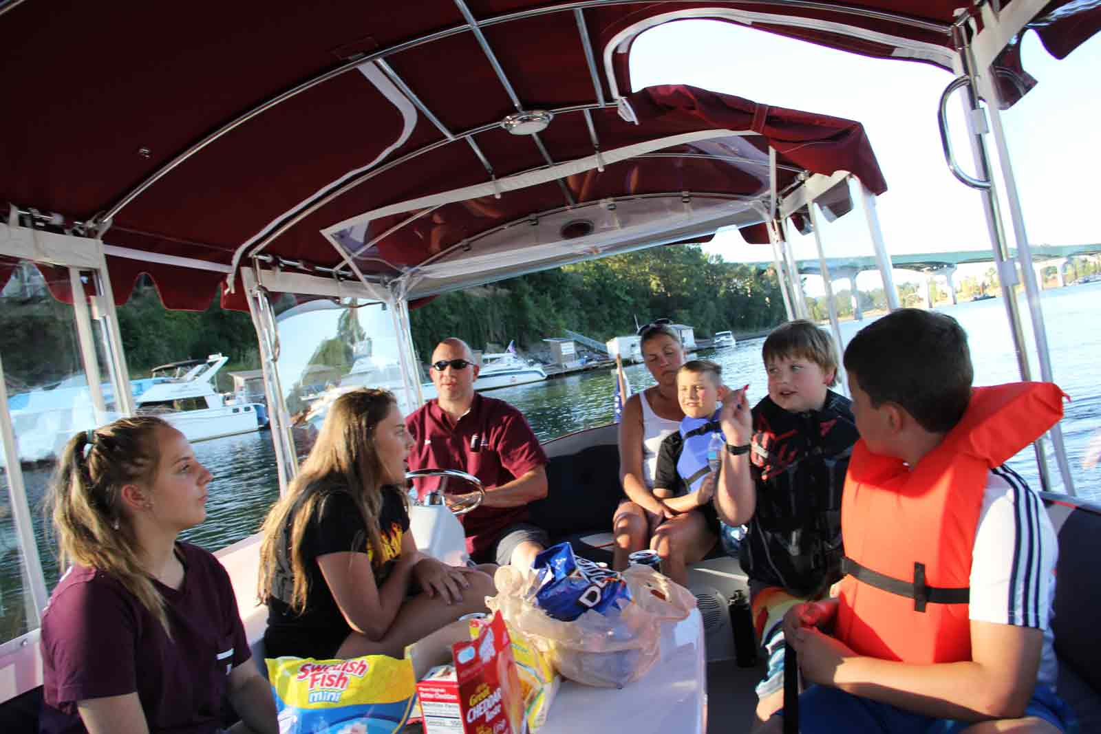 More fun on the boat!