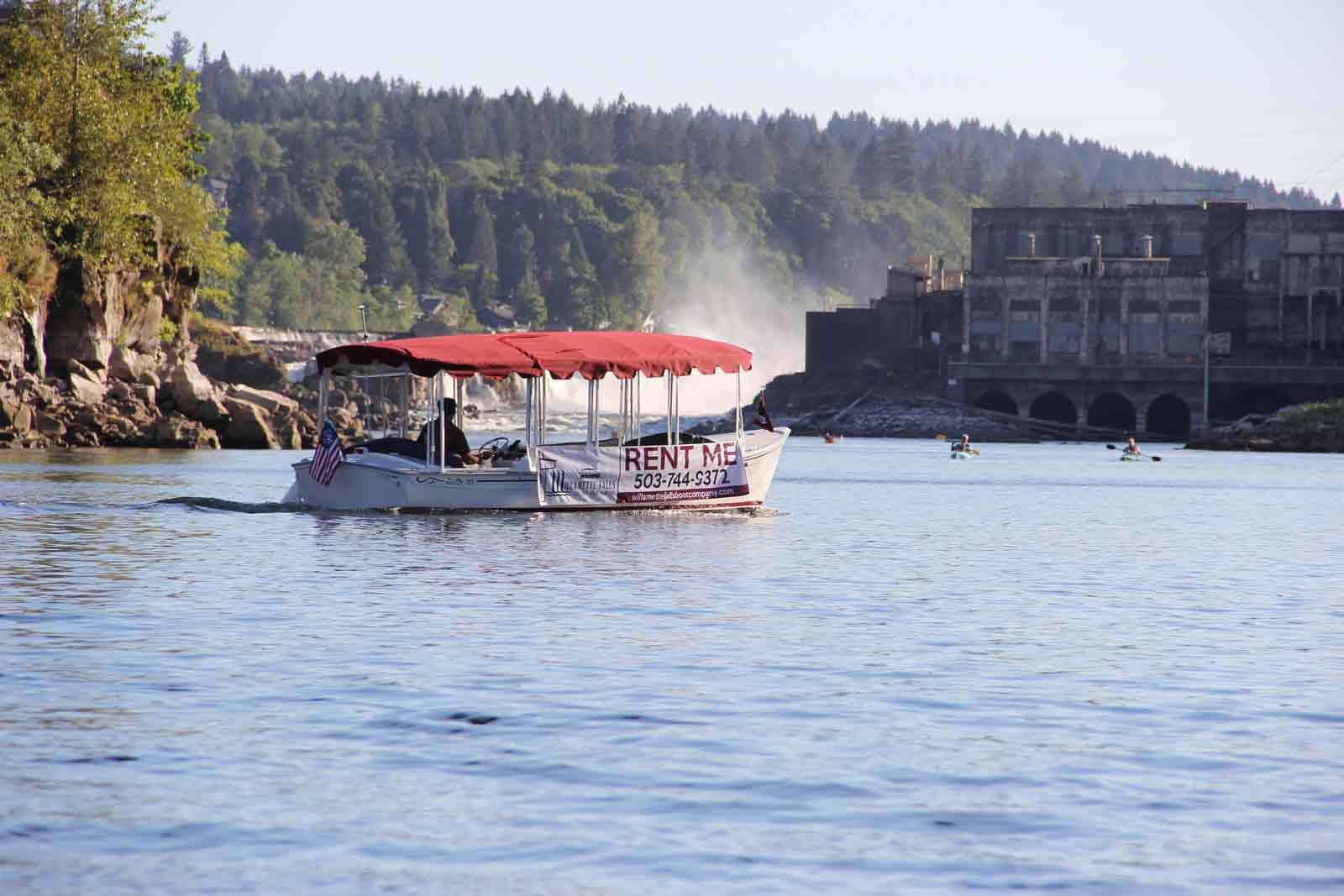 Cruising the Willamette in Oregon City, OR